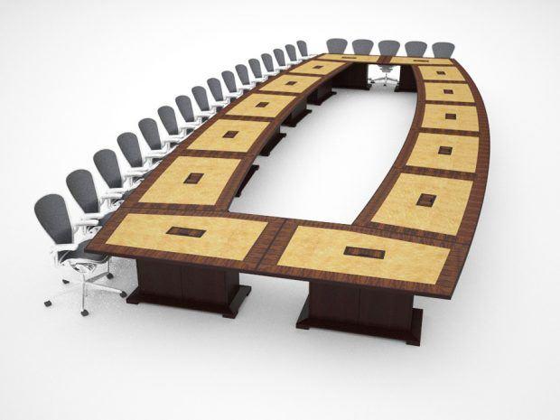 Office Meeting Table - NASA