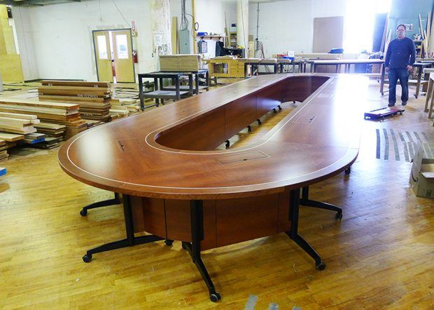 Racetrack Conference Table - Texas Hospital Association