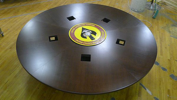 Marines 1 Round Conference Table