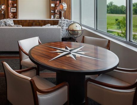 Round Conference Table Shape