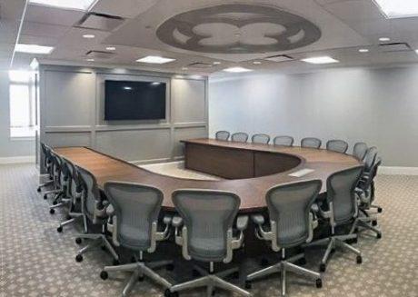 U–Shape Conference Table Shape