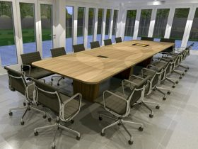Joseph Oat Corporation Conference Table