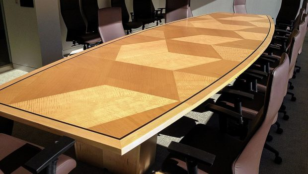 Branding for Custom Conference Tables
