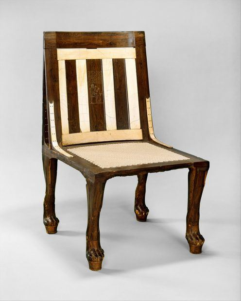 Custom Egyptian Chair Design