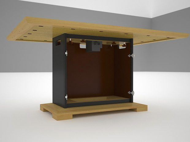 Interior of Conference Table Base