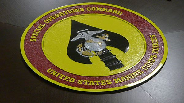 Marines Marine Corp Conference Table Logo