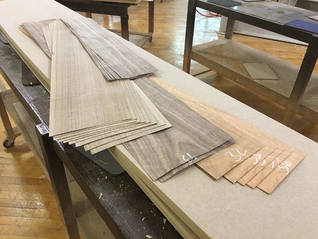 Veneers for Conference Tables