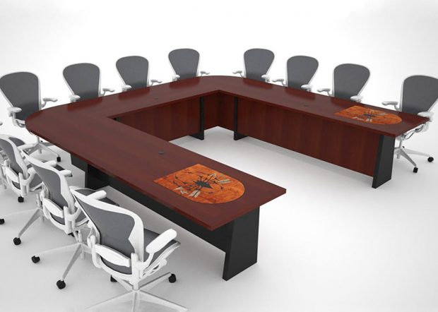 7th Special Forces Group Cherry Conference Table