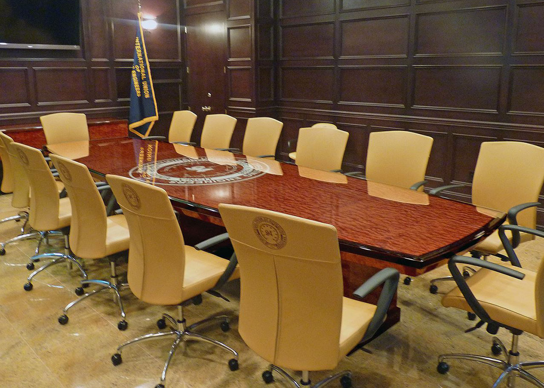 ACE Boardroom Table - Rectangle Conference Table  Paul Downs