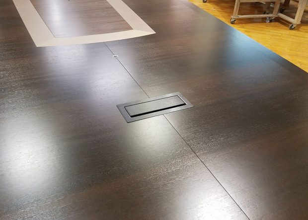 Aclaris Large Conference Table with Power