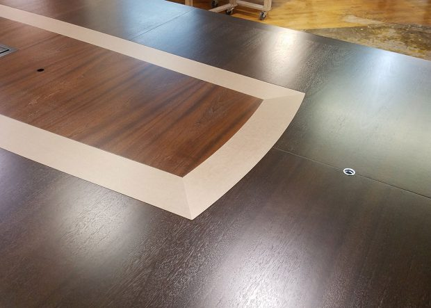 Aclaris Long Boat Shaped Conference Table