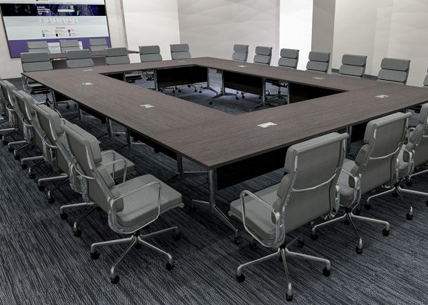 AGDIA Folding Conference Room Tables with Wheels