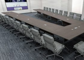 AGDIA Modular Folding Conference Table