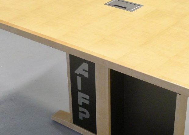 AIFP Custom Modular Conference Table with Power