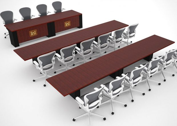 Army Corps of Engineers Modular Conference Room Furniture