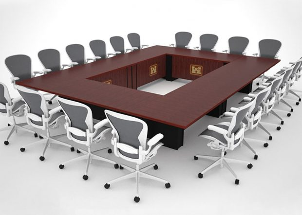 Army Corps of Engineers Modular Conference Table
