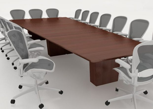 Bancroft Solid Wood Conference Table