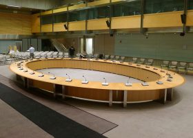 Preston Auditorium Extra Large Boardroom Table