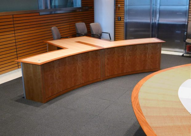 Bank Oval Executive Boardroom Table
