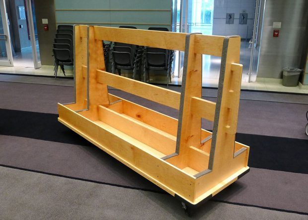 Preston Auditorium Reconfigurable Conference Room Table Cart