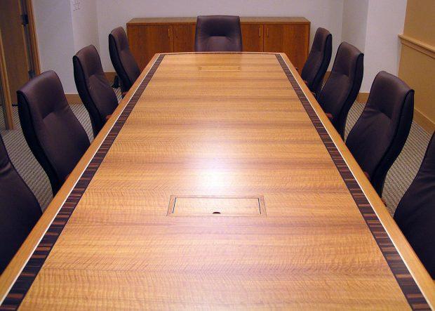 DMN Custom Long Conference Table