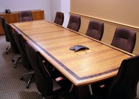 BMN Traditional Maple Conference Table