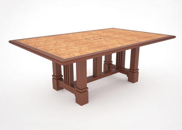 Brandywine Custom Cherry Boardroom Table