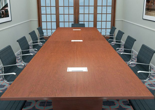 Central Hotel Wild Cherry Conference Table Laminate