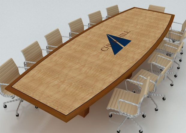 Churchill Engineers 10 Person Conference Room Table