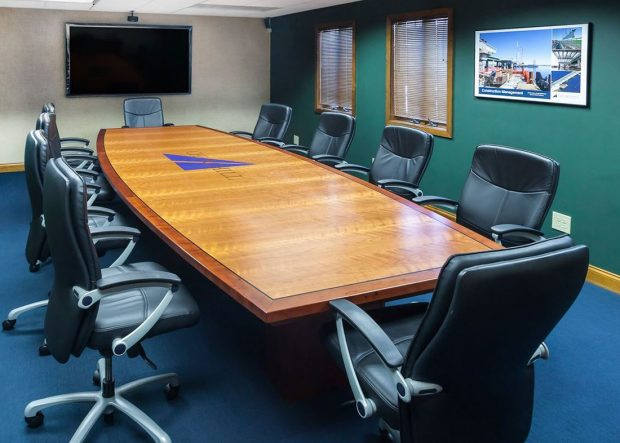 Churchill Engineers Rectangle Cherry Wood Conference Table