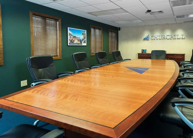 Churchill Engineers Custom 15 Foot Conference Table