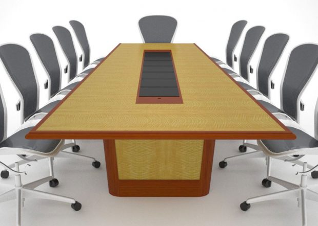 Colorcon Engraved Logo Boardroom Table