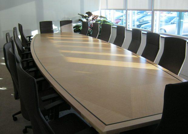 CubeSmart Modern Boardroom Conference Table