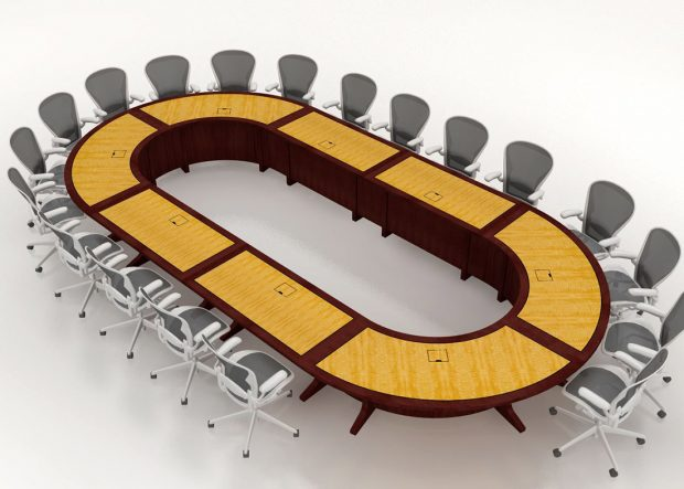 Danella Modular Oval Conference Room Table