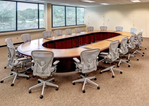 Danella Modular Racetrack Conference Table