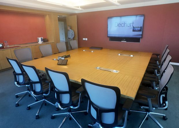 Dechert Modern Modular Conference Room Tables