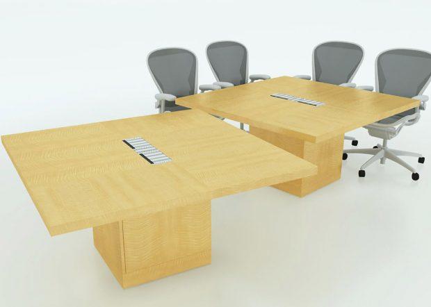 Dechert Modular Conference Tables on Wheels
