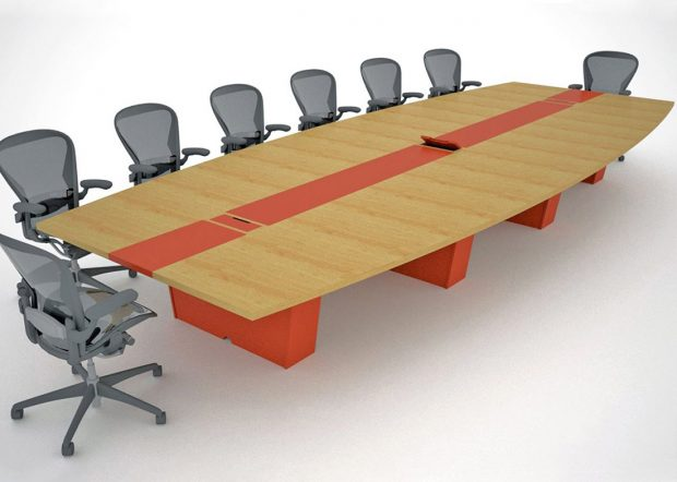 DEI Holdings Premium Modern Conference Table