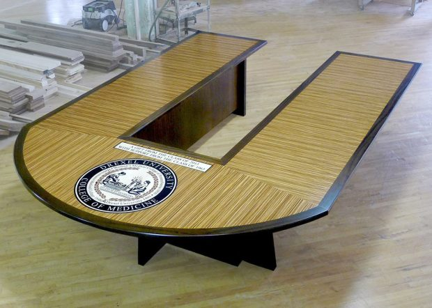 Drexel University Custom Made Conference Tables