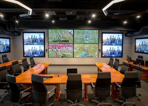 Eagles Cherry Modular Meeting Room Tables
