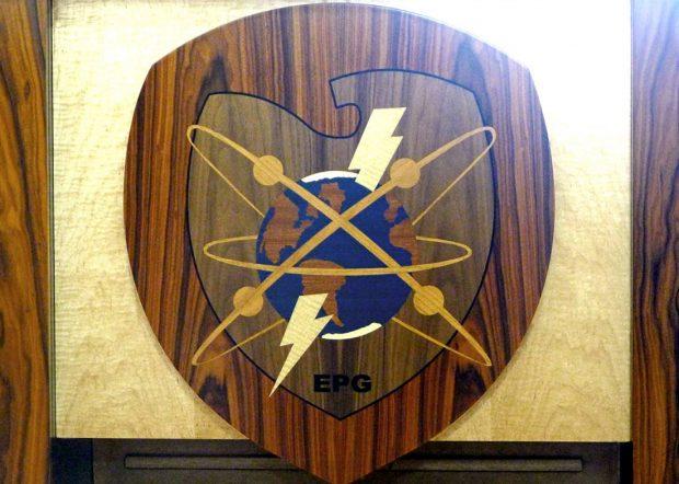 EPG Boardroom Conference Tables Logo Panel