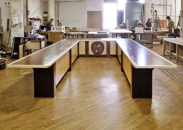 EPG Custom U Shaped Boardroom Table
