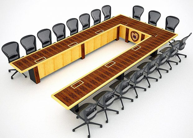 EPG U Shaped Custom Boardroom Tables