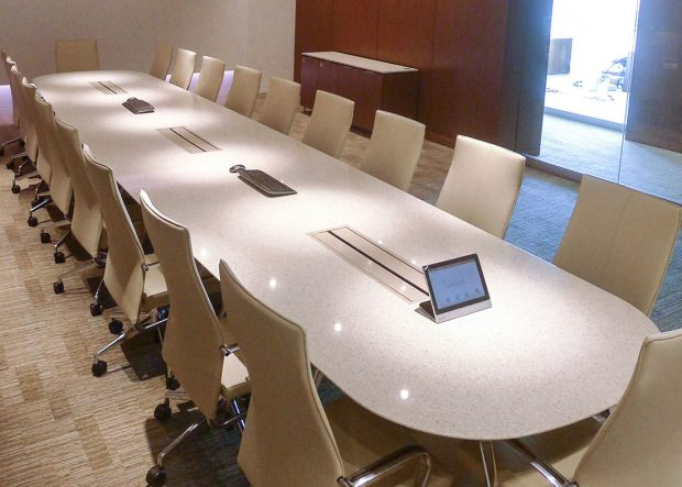 Vanguard Custom Quartz Conference Table