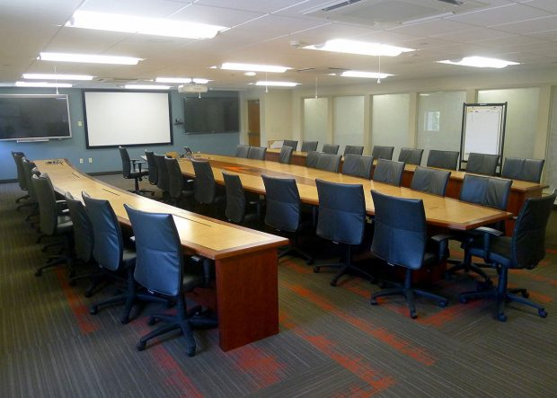 WL Gore Custom Long Conference Tables