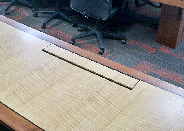 WL Gore Custom Long Meeting Table