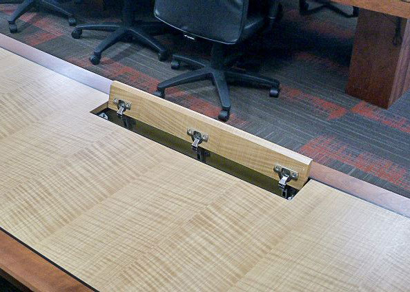 WL Gore Custom Multimedia Conference Table