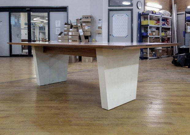 Zwilling Solid Modern Wood Conference Table
