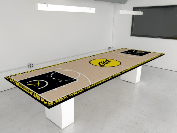 easy clean conference table