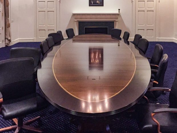 traditional conference table